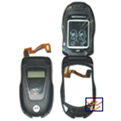 Nextel ic502 lcd with front housing