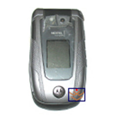 Nextel ic902 flip lcd with front housing