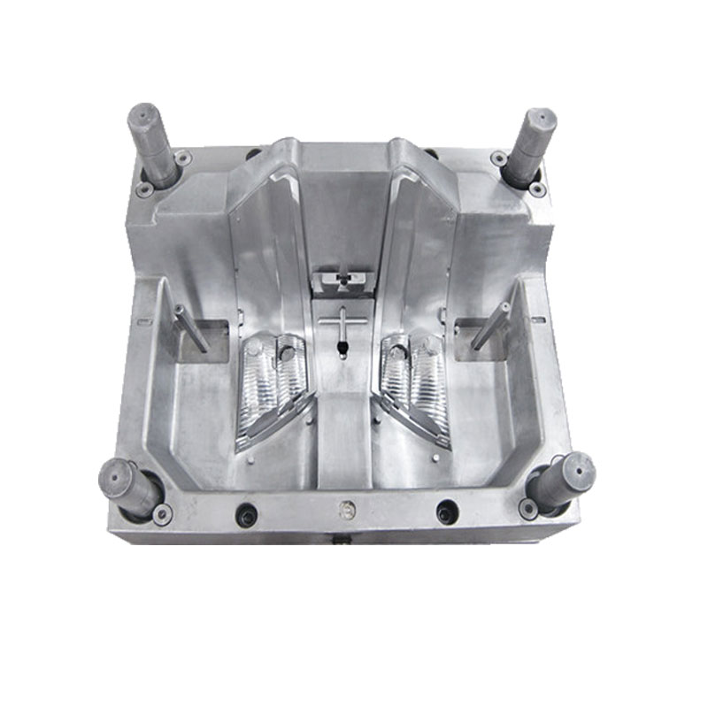 Automobile lamp cover/holder mold, plastic injection mould